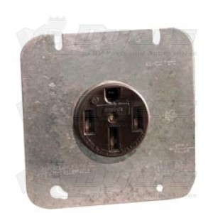cooper 50 amp 4-wire receptacle plate - receptacles ... 50 amp 4 wire receptacle diagram 50 amp 208 volt wiring diagram #13