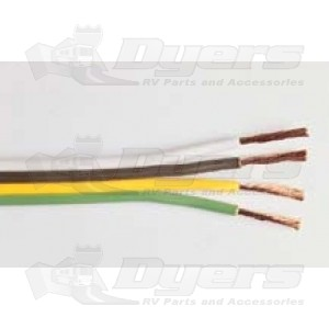 East Penn 16 Ga. 4 Conductor Bonded Parallel Wires (Sold Per Ft)
