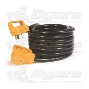Camco 30 AMP 25' Power Grip Extension Cord with handles
