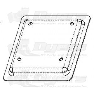 Tri Mark Access Door Latch Mounting Bracket Plate