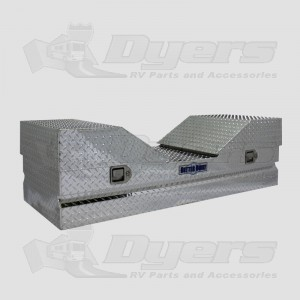 Better Built Aluminum V Top Fifth Wheel Storage Box & Better Built Aluminum V Top Fifth Wheel Storage Box - Truck Cargo ...