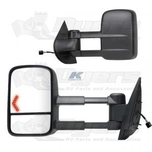 K-Source 07-12 GMC/Silverado 1500/2500/3500 Extendable Towing Mirrors