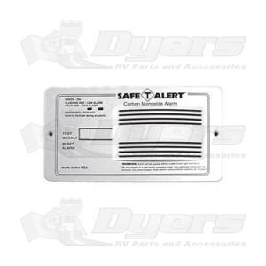 Safe-T-Alert White Flush Mount Carbon Monoxide Alarm