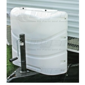 Camco 20-30lb Polar White Double Propane Tank Cover