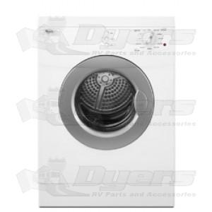 Whirlpool Compact Stackable Front Load Glass Door Dryer