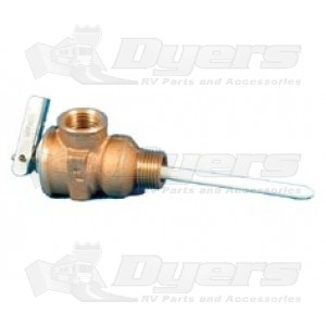 Camco 1/2&quot; Self Closing Relief Valve