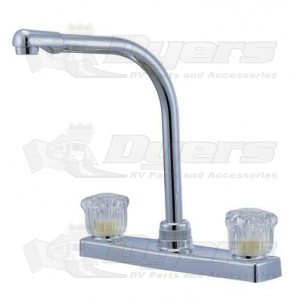 Relaqua High Spout White Kitchen Faucet