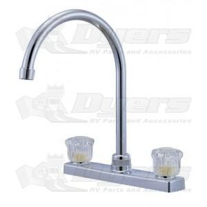 Relaqua High Arch Satin Nickel Kitchen Faucet