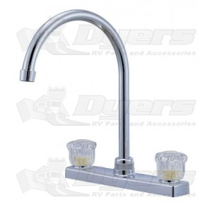 Relaqua High Arch White Kitchen Faucet
