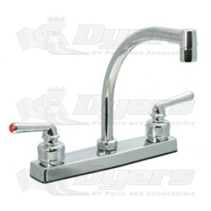 Phoenix Plastic Underbody Chrome Hi-Arc Pot Filler Kitchen Sink Faucet