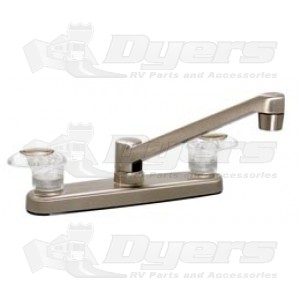 Phoenix Brushed Nickel Lever Handled Kitchen Faucet