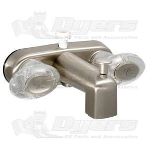 Phoenix Brushed Nickel Two Handled Tub Diverter
