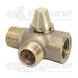Camco 3-Way Replacement Valve for By-Pass Kits
