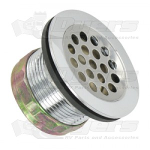 "Valterra 2"" Chrome Shower Drain"