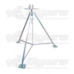 Ultra-Fab Steel King Pin Tripod Stabilizing Jack