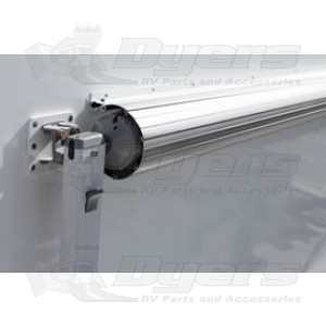 Dometic 18 Polar White Metal Weathershield Awnings