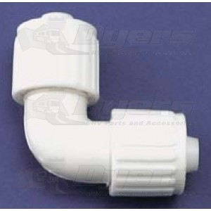 "Flair-It 3/8"" x 3/8"" Elbow Adapter"