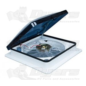 Fan-Tastic Vent Fan 2250 Series Smoke Dome White Garnish