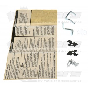 Atwood Water Heater Door Mounting Hardware Kit  sc 1 st  Dyers - RV & Atwood Water Heater Door Mounting Hardware Kit - Water Heater Doors ...