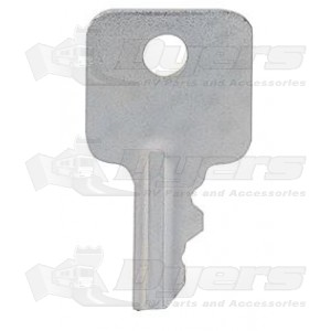 RV Designer Old Style DECO-A Hatch Lock Replacement Lock Key