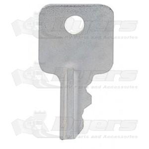 RV Designer Old Style DECO-A Hatch Lock Key