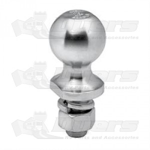 "Tow Ready 2,000lb 1-7/8"" x 1"" x 2-1/8"" Hitch Ball"