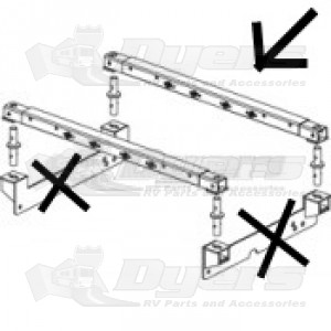 PullRite 16K/20K SuperGlide Removable Base Bed Rail Kit