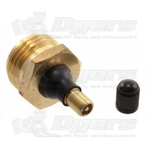 Camco Brass Blow-Out Plug - Blow-Out Plugs - Winterizing