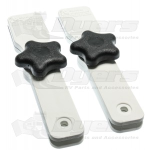 Carefree White Canopy Cl&s  sc 1 st  Dyers - RV & Carefree White Canopy Clamps - Awning Parts u0026 Accessories - Hardware
