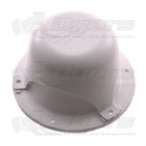 Custom Plastics Polar White Plumbing Vent 43
