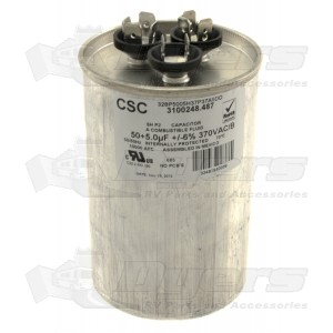 Dometic A/C Capacitor 50/5 MFD