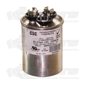 Buy dometic a c capacitor 57115 600315 304 d air conditioner parts