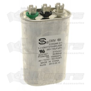 Dometic A/C Run Capacitor Kit 60/10 MFD