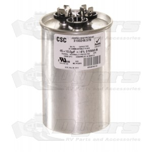 Dometic A C Run Start Fan Capacitor 45 10 Mfd Air