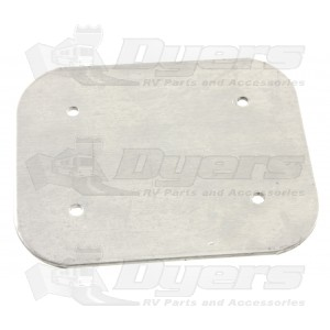 "Dometic Awning 4"" x 5"" Ten Rafter Back Plate"