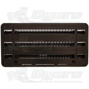 Dometic Black 30 Quot Side Vent Assembly Refrigerator Parts
