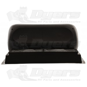 Dometic Black New Style Refrigerator Roof Vent Kit Cap