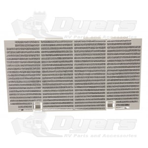 Buy dometic shell return air grille quick cool ducted lowers