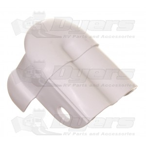 Dometic Polar White Weatherpro Front Channel Cover