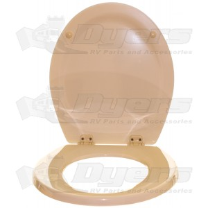 Dometic Sealand 500+ Bone Toilet Seat Assembly