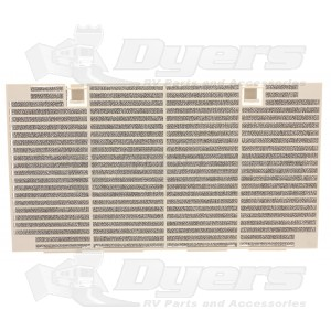 Dometic Shell White Return Air Grille for Quick Cool Ducted A/C Lowers