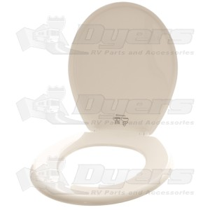 Dometic White Traveler Lite Toilet Seat And Cover