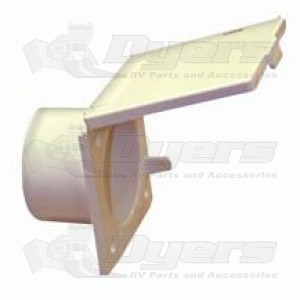 J&C Electrical Cable Hatch - Polar White