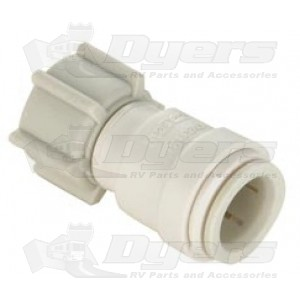 """SeaTech 3/8"""" CTS x 1/2"""" NPS Female Swivel Connector"""