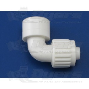 "Flair-It 1/2"" Flare x 1/2"" FPT Elbow Adapter"