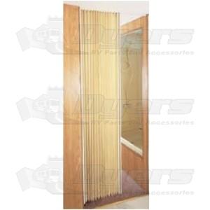 """Irvine 72"""" x 75"""" Colonial White Folding Door"""
