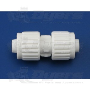 """Flair-It 3/8"""" x 3/8"""" Flare Coupling"""