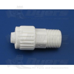 "Flair-It 3/8"" Flare x 3/8"" MPT Adapter"