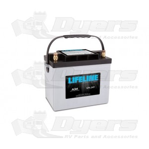 lifeline 12v rv deep cycle 80ah agm battery batteries. Black Bedroom Furniture Sets. Home Design Ideas