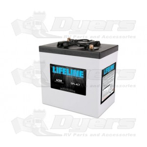LifeLine 6V RV Deep Cycle 220ah AGM Battery